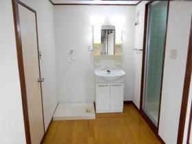 洗面スペース(洗濯機置場と洗面化粧台)