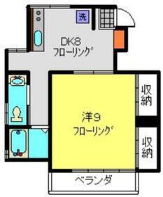 シャトルハウスⅡ2階Fの間取り画像