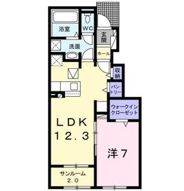 ノヴァ Ⅰ1階Fの間取り画像