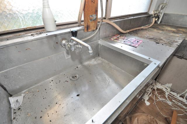 八戸ノ里KS 小さいですが洗面台ありますよ