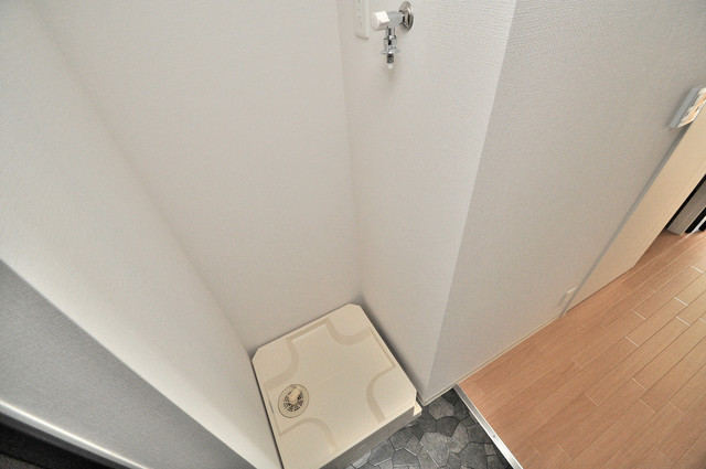 M'プラザ小阪駅前 洗濯機置場が室内にあると本当に助かりますよね。