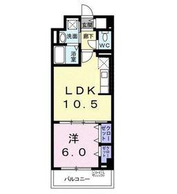 ブルーレジデンス・ケイ3階Fの間取り画像