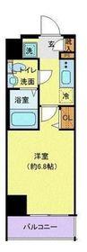 リヴシティ横濱浅間台5階Fの間取り画像