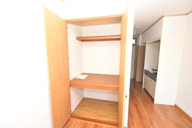 エステートピアナカタA棟 もちろん収納スペースも確保。いたれりつくせりのお部屋です。