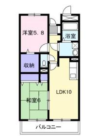 アウフォーレ4階Fの間取り画像