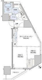 クレヴィアリグゼ小石川5階Fの間取り画像