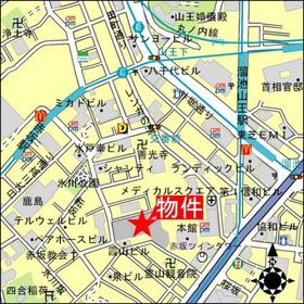 溜池山王駅 徒歩4分案内図