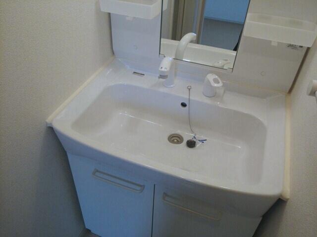 クリスタルガーデン カラー 忙しい朝にあなたを手助けしてくれる素敵な洗面台。