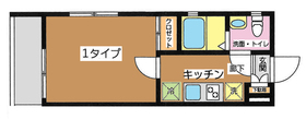 (仮)西台レジデンス2階Fの間取り画像