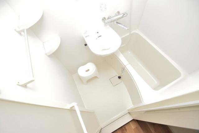 荻田第6ビル 単身さんにちょうどいいサイズのバスルーム。