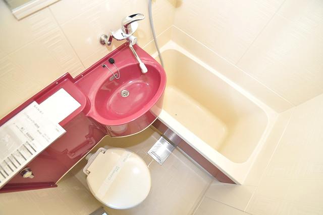 ロータリーマンション永和 シャワー一つで水回りが掃除できて楽チンです