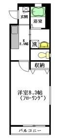Grazia3階Fの間取り画像