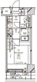 川崎駅 徒歩14分2階Fの間取り画像