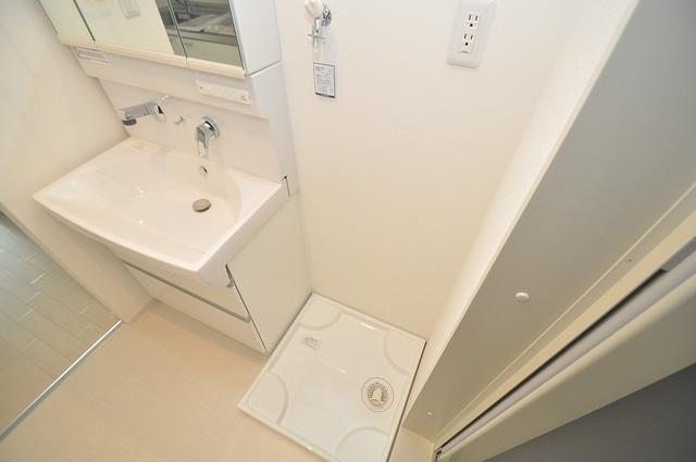 AXIA(アクシア) 室内に洗濯機置き場があれば雨の日でも安心ですね。