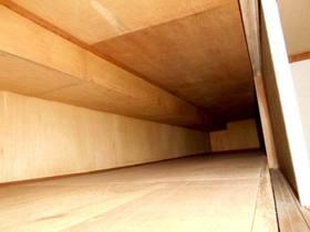洋室と和室で繋がっている天袋