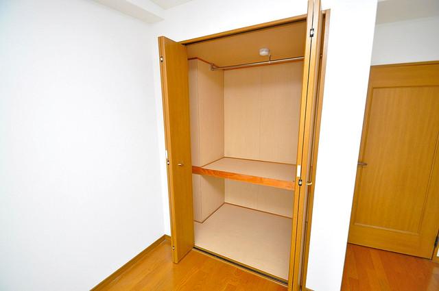 トリニティ加美東 もちろん収納スペースも確保。お部屋がスッキリ片付きますね。