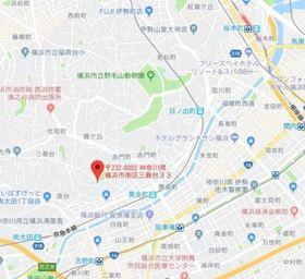 パルク横浜案内図