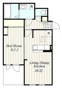 イデアル3階Fの間取り画像