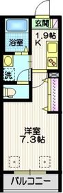 annei 川崎2階Fの間取り画像