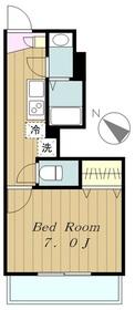 リブリ・アルモ1階Fの間取り画像