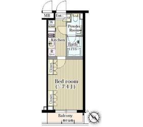アットホームレジデンス 203号室