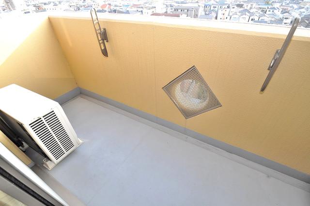 プラ・ディオ徳庵セレニテ バルコニーは陽当たりが良く、洗濯物も気持ち良く乾きます。
