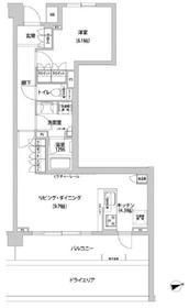 コンフォリア目黒青葉台1階Fの間取り画像