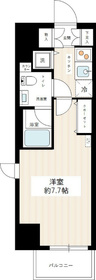 HY's YOKOHAMA Felice7階Fの間取り画像