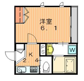 ロジール パサージュ 目黒3階Fの間取り画像