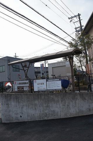 屋根付き駐輪場♪♪