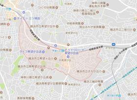 メゾンソレイユ希望ヶ丘案内図