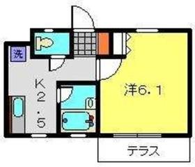 スプリングステージ2階Fの間取り画像