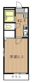 カサベルデ世田谷3階Fの間取り画像