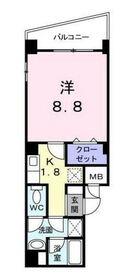 クロスローズ新横浜3階Fの間取り画像