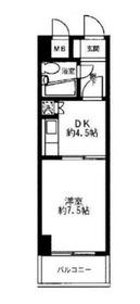 ホワイトガーデン東田5階Fの間取り画像