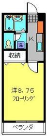 セレ上星川1階Fの間取り画像