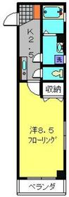 新川崎駅 徒歩22分2階Fの間取り画像