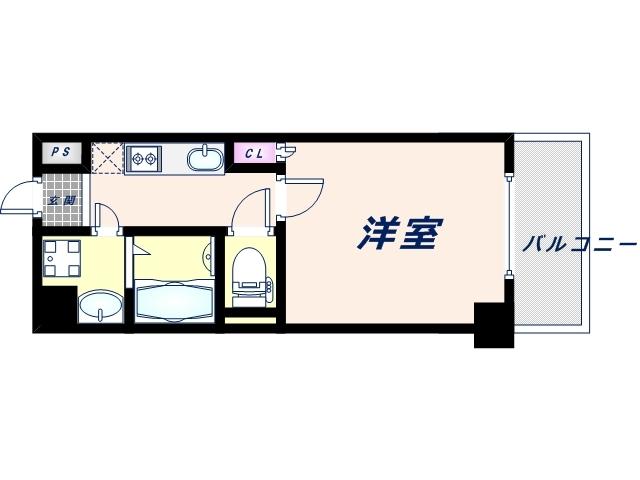 1階の間取り図