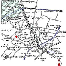 パークアクシス渋谷神南案内図