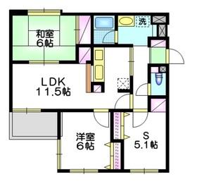 パティオ表参道3階Fの間取り画像