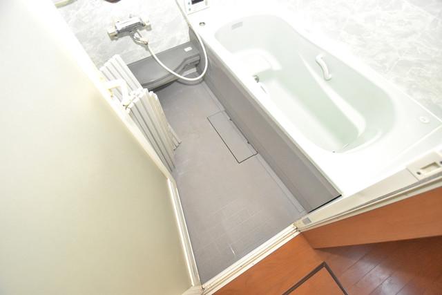 大蓮南2-18-9 貸家 広めのお風呂は一日の疲れを癒してくれます