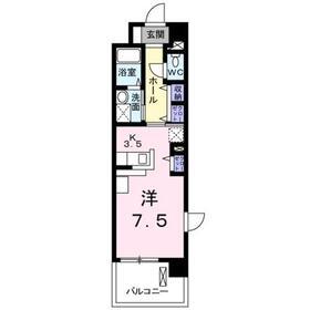 ウィステリア(wisteria1階Fの間取り画像