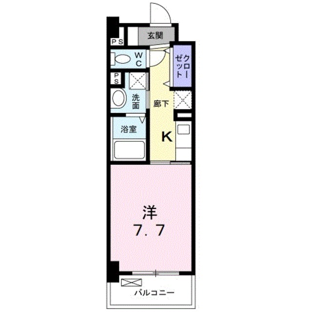 3階の間取り図