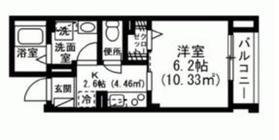 インペリアルヒルズ4階Fの間取り画像