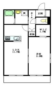 Maison de la lumiere1階Fの間取り画像