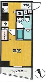 SHOKEN Residence横浜山手1階Fの間取り画像