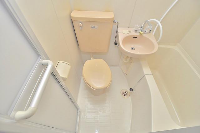 エンブレム巽西 清潔感のある爽やかなトイレ。誰もがリラックスできる空間です。