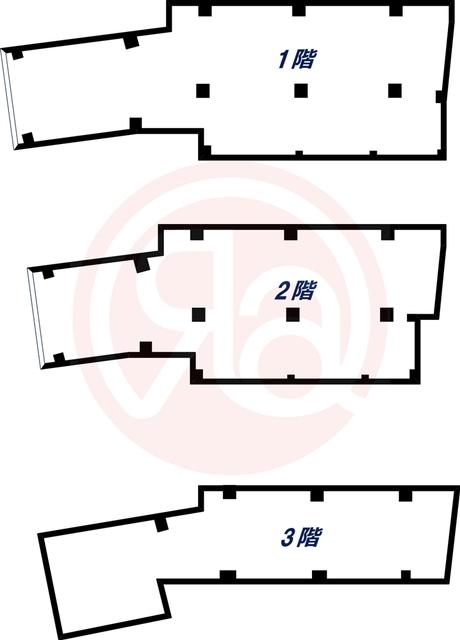-階の間取り図