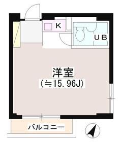 渋谷駅 徒歩5分5階Fの間取り画像