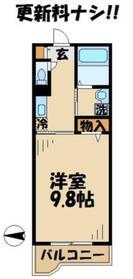 カーサフィオーレ2階Fの間取り画像